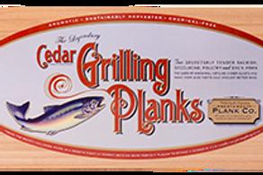 Cedar Grilling Plank 4 Pack