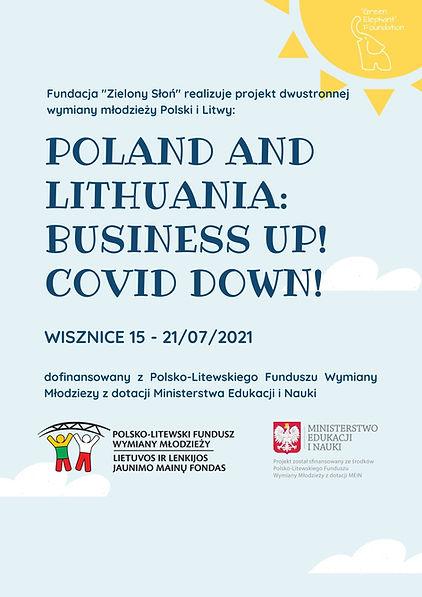 Niebieski i Żółty Światło Słoneczne Klasa Zarządzanie Plakat.jpg