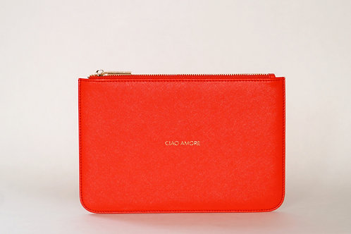 CIAO AMORE RED CLUTCH