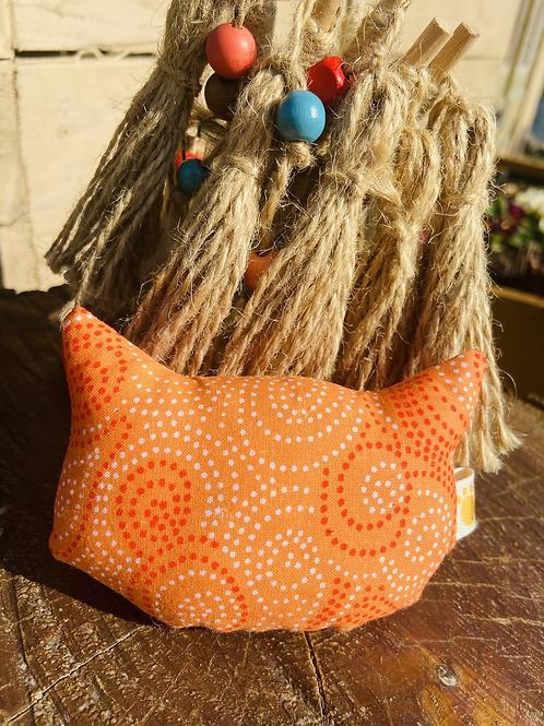 Tête de chat Orange