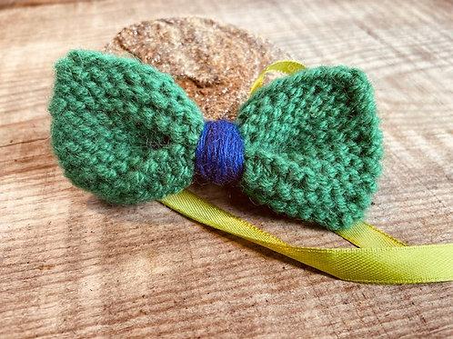Noeud papillon en laine