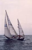 Offshore sailing school on Tripp 45, ASA 103, ASA 104, ASA 106, sailing to Bermuda  and BVI