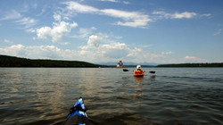 Hudson River sailing, kayak, dinghy