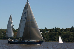 Sailing School on Hudson River NY