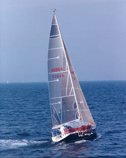 Racing yacht Nirvana winning ALIR