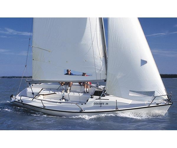 Sailing Colgate 26 is safe and fun!