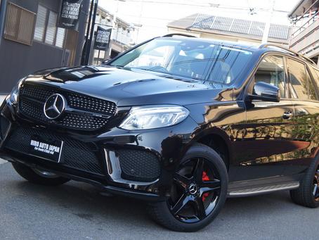 Mercedes-Benz GLE W166 G350d GLE43 AMG メルセデス ベンツ BLACK CUSTOM キャリパーペイント ホイールペイント ラッピング スモークペイント ノンダス