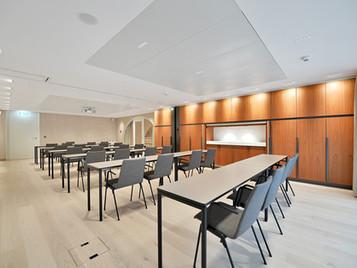 Seminarräume bereit