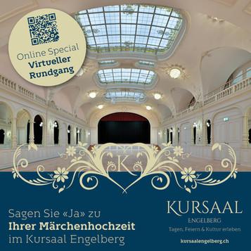 Hochzeit im Kursaal Engelberg