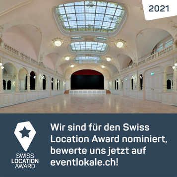 Kursaal Engelberg wurde für den Swiss Location Award 2021 nominiert