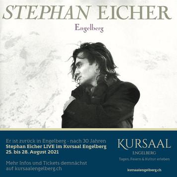 Stephan Eicher Live im Kursaal Engelberg
