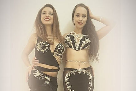 Bárbara and Giorgia International dancer