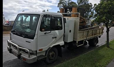 Freightliner truck on road