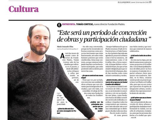 Entrevista Tomás Cortese, Director Ejecutivo Fundación PLADES