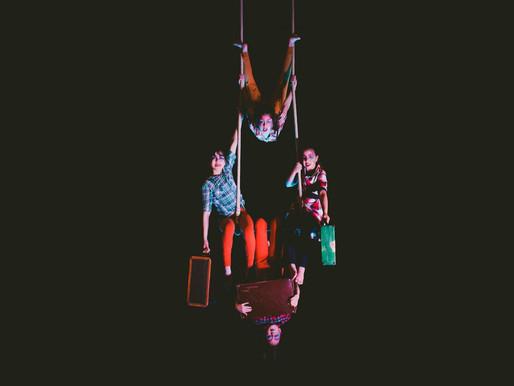 Los viajes y caminos inspiran presentación final de alumnos de Circo Frutillar