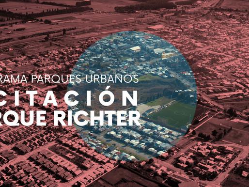 Inicia licitación de diseño de Parque Urbano Richter