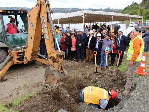 Mejorará conectividad gracias a pavimentación de camino en sector Los Bajos