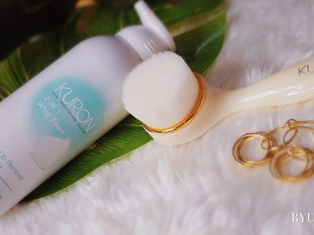 Kuron Duo Cleansing Set - Great Facial Cleansing Brush