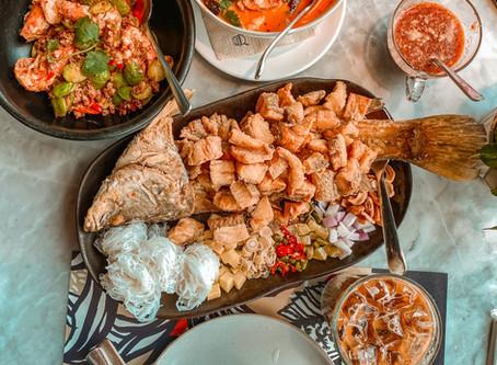 Thai Food with a Modern Twist - Kub Kao Kub Pla