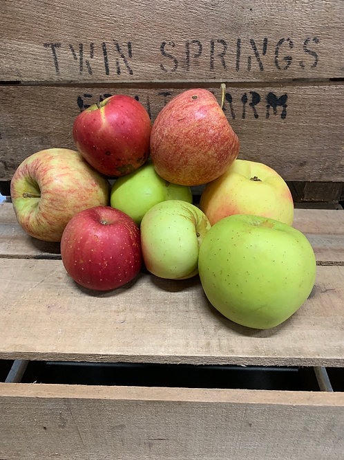 Apples: second quality (3lbs.)