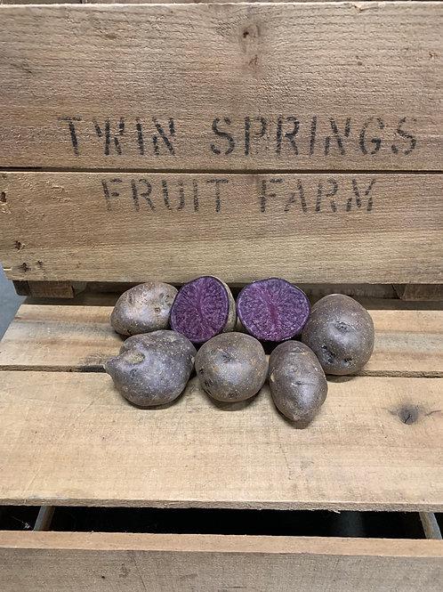 Potatoes : Purple Majesty (1lb)