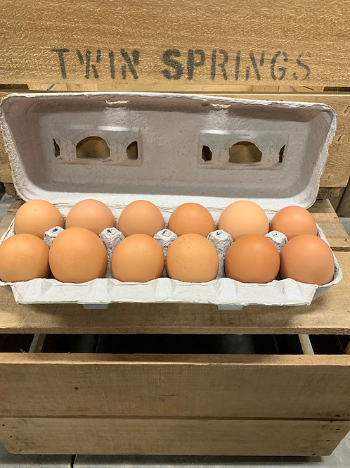 Free range eggs (washed)