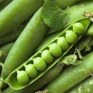 Peas: English hull (1/2 lb)