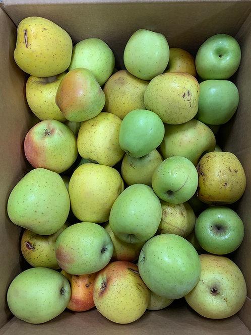 Apples: Second Quality Goldrush (1/2 bushel)