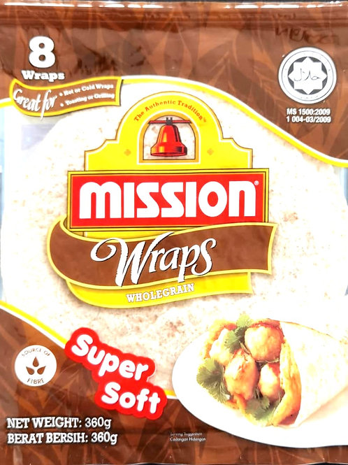 Mission Wraps Whole Grain ( 360g / 8 pcs )
