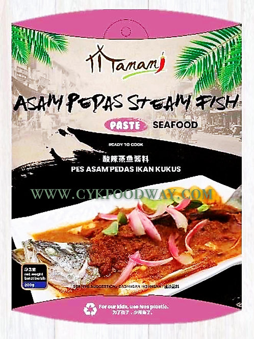 Mamami Asam Pedas Steam Fish Paste - Seafood ( 200g )