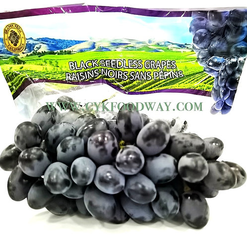 Black Grapes California - Raisins Noirs Sans Pepins ( 800 g ± )