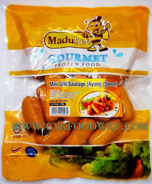 Madubee Mini Grill Chicken Sausage with Cheese