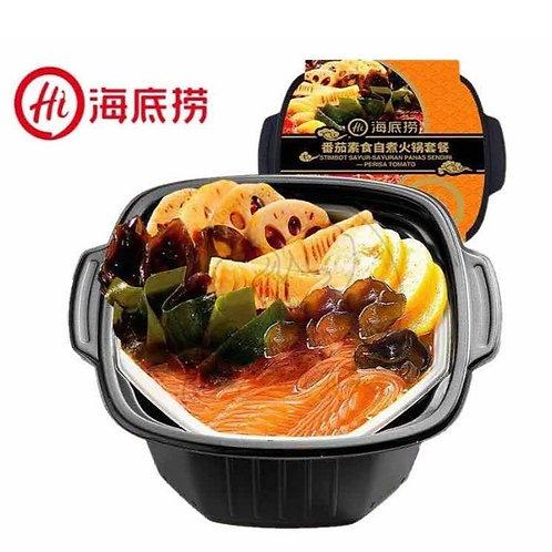 海底捞 番茄素食自助火锅套餐 Hai Di Lao Tomato Vegetarian Hotpot (400g)