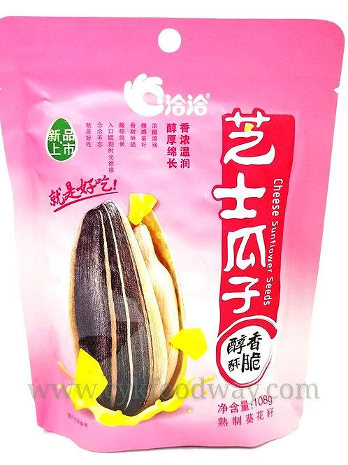 洽洽瓜子-芝士 QiaQia Sunflower Seeds - Cheese ( 108 g )