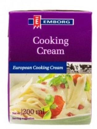 Cooking Cream UHT  Emborg ( 200 ml )