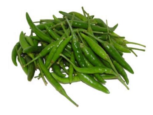 Chilli Small GREEN 青辣椒仔 ( 200 g ±)