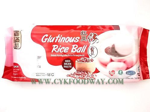 Glutinous Rice Ball Red Bean Paste 红豆汤圆 ( 10 Pcs )