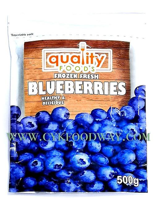 Frozen Fresh Blueberries ( 500g )