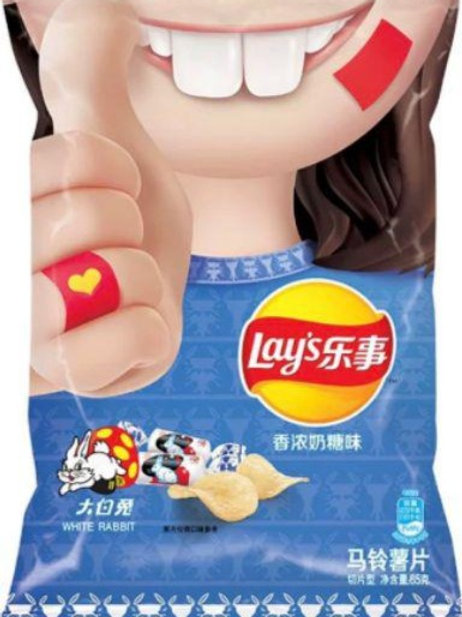 Lay's乐事薯片香浓奶糖味 ( 60g )