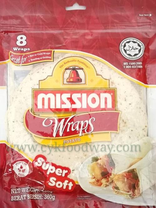 Mission Wraps Potato ( 360g / 8 pcs )