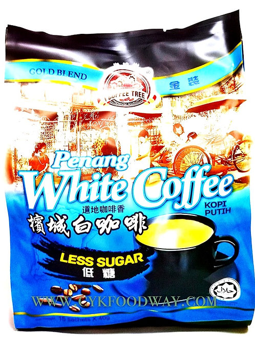 Coffee Tree Penang White Coffee Less Sugar ( 40g x 15 )