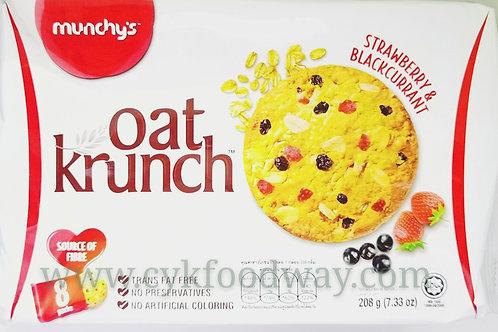 Munchy's Oat Krunch Strawberry ( 208 g )