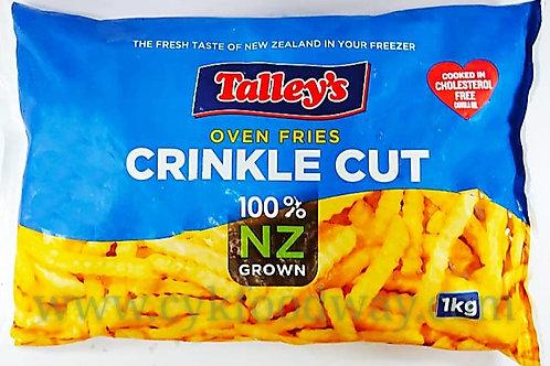 NZ Crinkle Cut Fries ( 1kg )