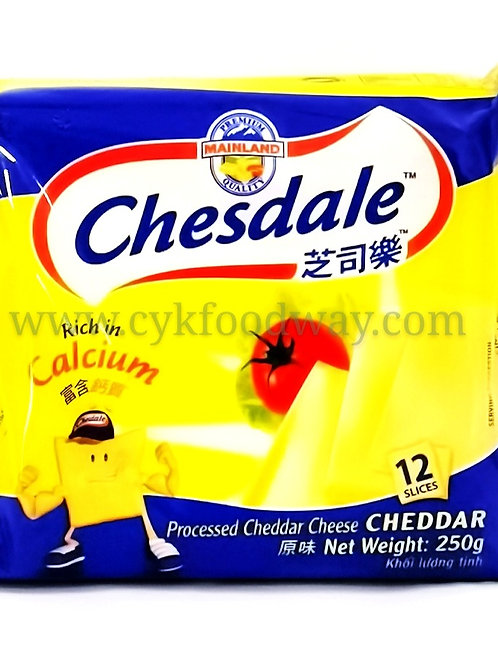 Chesdale Cheese Cheddar 12 slices ( 250 g )