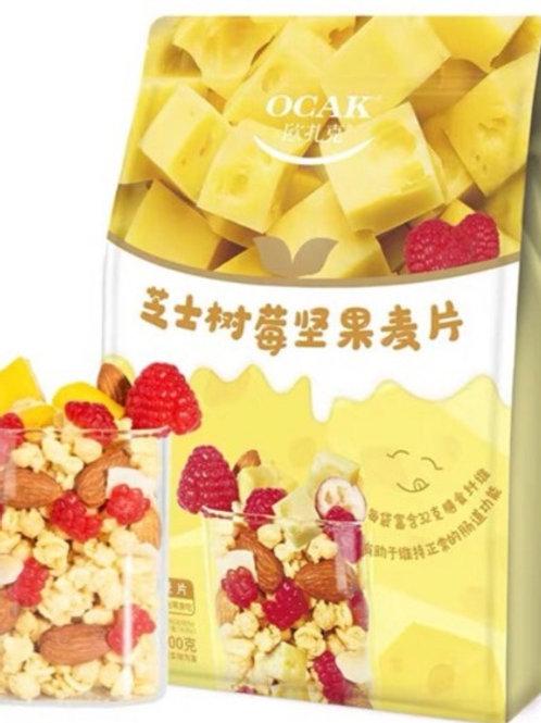 OCAK芝士树莓坚果麦片