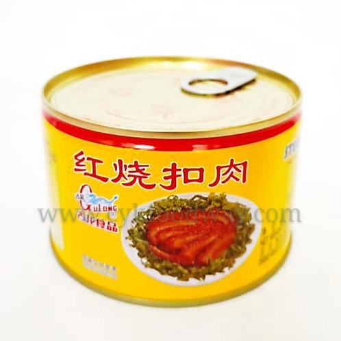 Gulong Stewed Pork Slice 古龙红烧扣肉 ( 383 g )