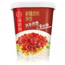 海底捞 新疆甜椒拌饭