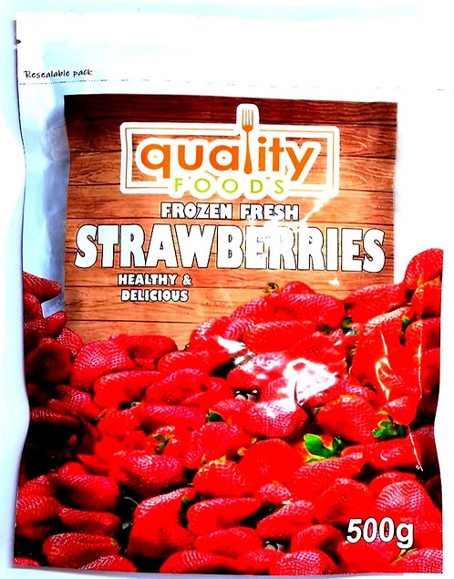 Frozen Fresh Strawberries ( 500g )