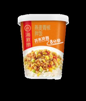 海底捞燕麦青椒拌饭 Hai Di Lao