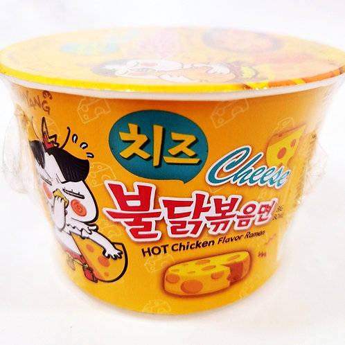 Hot Chicken Cheese Big Bowl Ramen (Samyang ) 105g